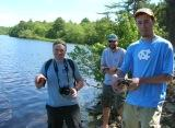 Now you see them.... (Red-Bellied Cooter Release)