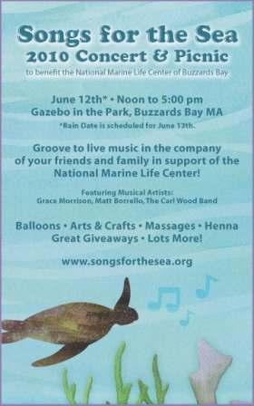 Join us at Songs for the Sea!